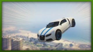 GTA 5 Stunts - Top 5 Stunts - EXTREME Bike & Car Flips! - ( GTA V Online Stunts )