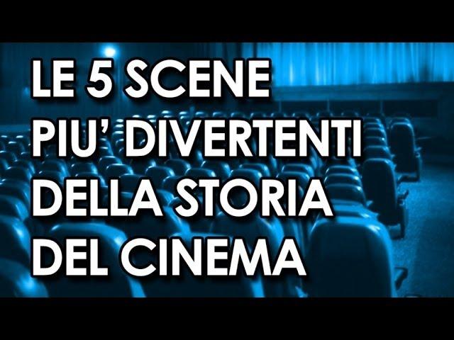 Le 5 scene più divertenti della storia del cinema