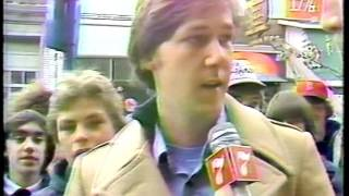 1978 Red Sox Opening Day WNAC-TV coverage with John Dennis, John Henning, others.