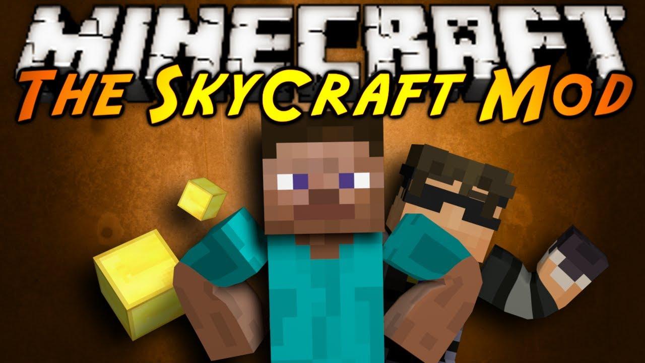 Minecraft mod showcase skycraft youtube