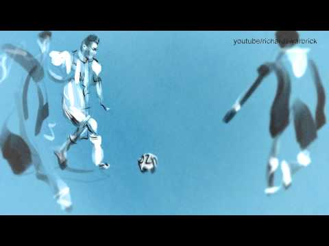 World Cup Animation - Lionel Messi 2014 (Richard Swarbrick) @RikkiLeaks