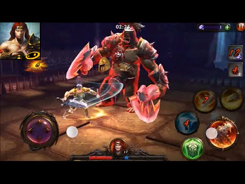 Eternity Warriors 3 Gameplay on iPhone