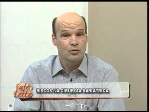 Café com Leite 10/08/2012: Riscos na Cirurgia Bariátrica