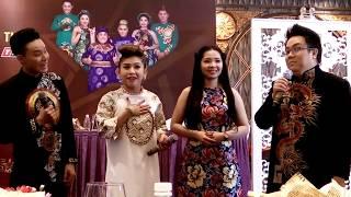 Con cháu các đại bang cải lương trổ tài ca hát tại họp báo Sao Nối Ngôi (18/5/2017)