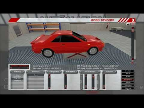 Little Dev Update: Mid-Engined Cars & New Stats