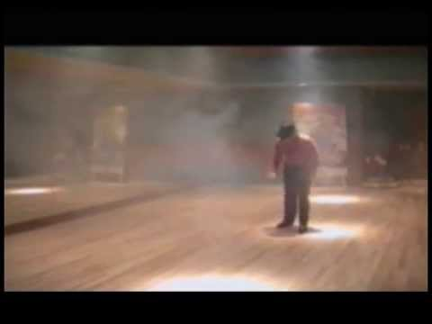 Michael Jackson dancing in his studio (amazing moonwalk) RARE