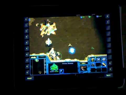Star Craft запущена на iPad