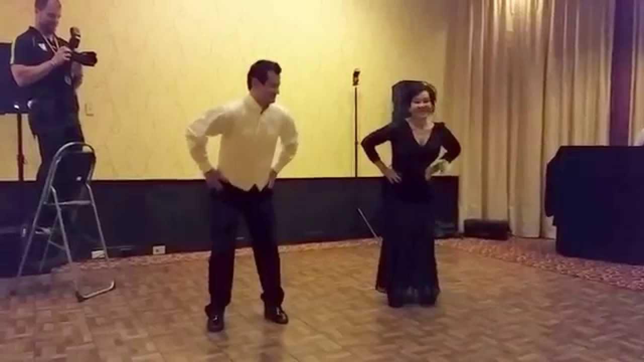 Groom And Mother Wedding Dance