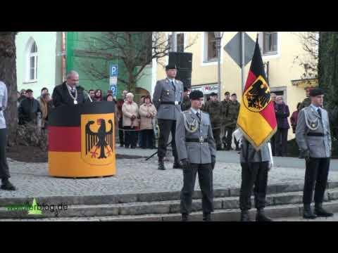 Feierliches Gelöbnis der Freyunger Rekruten in Grafenau/ Bayerischer Wald Teil 1