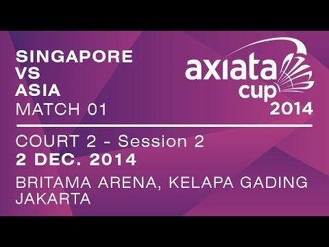 Group Stage - XD - D.B.CHRISNANTA / NEO Y.Y.V. vs LEE C.H. / CHAU H.W. - Axiata Cup 2014