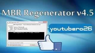 Descargar MBR Regenerator V4.5 Para Eliminar Todo Rastro