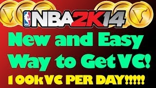 NBA 2K14 Xbox One And PS4 How To Easily Get 100k VC