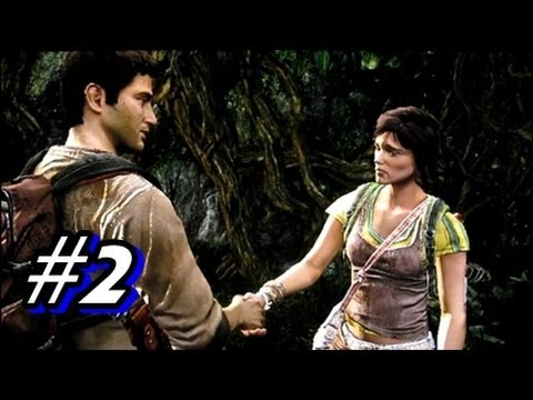 Let's Play Uncharted Golden Abyss - Part 2 Chapter 2