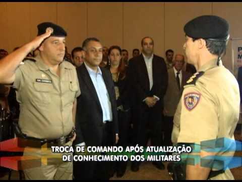 Polícia Militar de Uberlândia realiza troca de comando de unidades