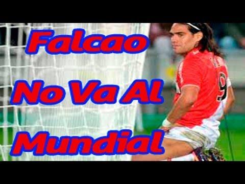 ✔ se fracturo la rodilla radamel falcao no va al mundial brasil 2014
