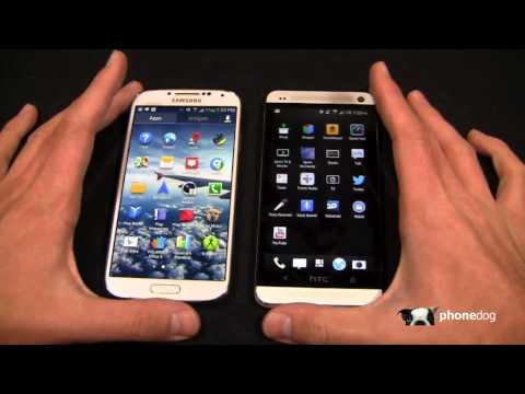 Samsung Galaxy S 4 vs. HTC One Dogfight Part 1