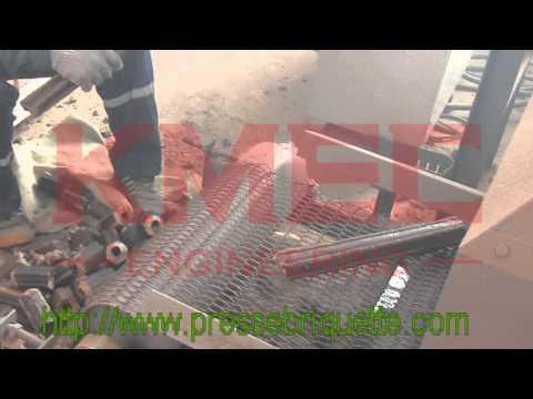 Presse à briquette /Vis presse à briquette