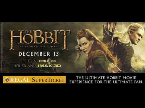 The Hobbit: The Desloation of Smaug -- Official Theatrical Trailer 2013 -- Regal Movies [HD]