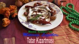 Tatar Kızartması yapılışı