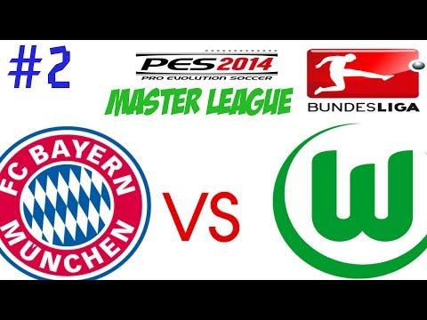 Pes 2014 - Liga Master - T1 Ep 2 - Inicio Da Bundesliga