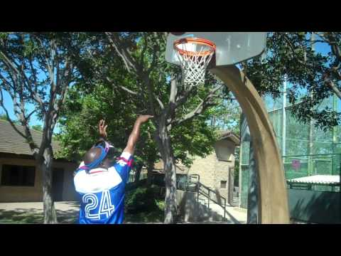 Basketball tips: Shooting under the basket will Improve your Tear Drop Arc