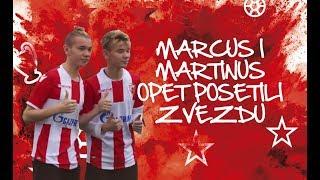 MARCUS & MARTINUS OPET POSETILI ZVEZDU | MARCUS & MARTINUS SUPPORTS FC RED STAR
