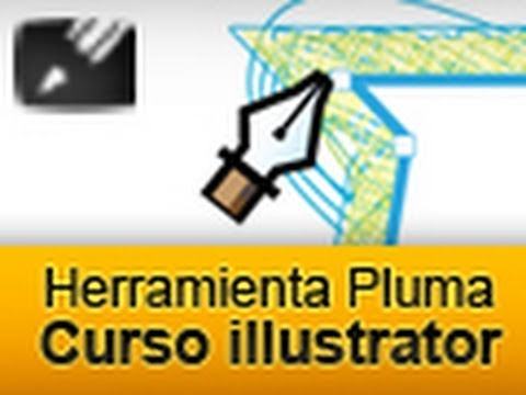 Curso Adobe illustrator CS3 - Herramienta Pluma