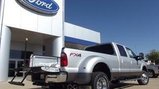 2012 SUPER DUTY Ford F-350 4X4 CREW CAB FX4 Dully diesel videos