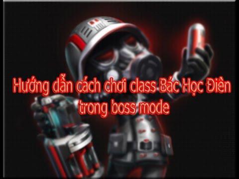 [Avatar Star VN] Hướng dẫn cách chơi class Bác Học Điên trong boss mode