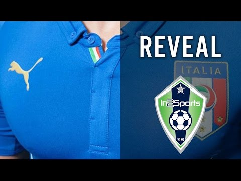 Italy 2014 World Cup Jersey - Reveal | In2Sports