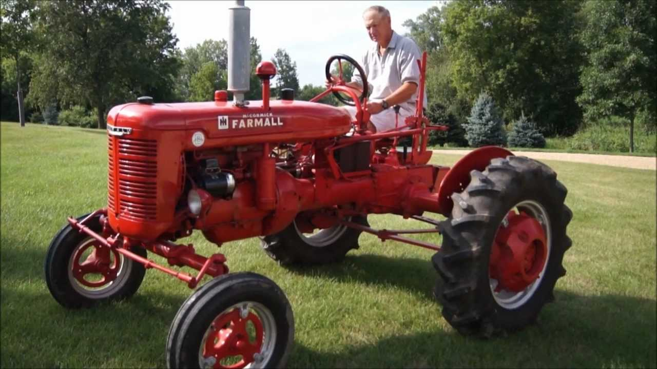 Farmall b tractor youtube