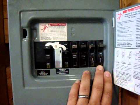 Generator Transfer Switch Youtube