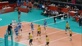 Volleyball: Brazil Vs Italy Fantastic Rally From The