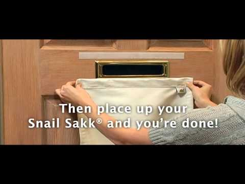 Snail Sakk - Mail Catcher for Mail Slots