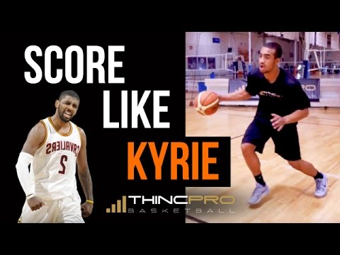 How to: Kyrie Irving Highlights & Moves! (Step by Step, Easy to Learn Basketball Score Moves)