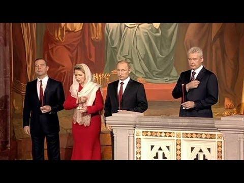 Los cristianos ortodoxos de Rusia, Ucrania y Egipto celebran la Pascua con un fondo de tensión