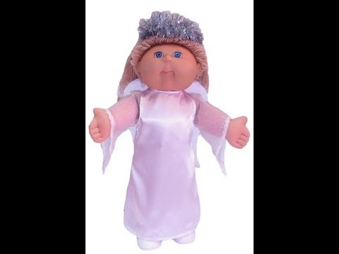 Cabbage Patch Kids Doll Clothes Sewing Pattern Angel Costume