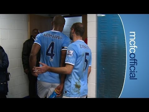 TUNNEL CAM City 4-1 Southampton