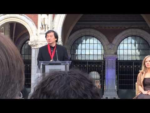 Shigeru Ban, Pritzker Architecture Prize Amsterdam June 14, 2014