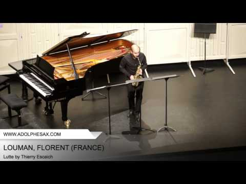 Dinant 2014 - LOUMAN, Florent (Lutte by Thierry Escaich)
