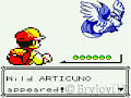 Pokemon Yellow - How to Catch Articuno with POKEBALL