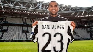 I primi due giorni alla Juventus di Dani Alves