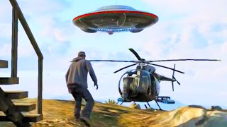 GTA V FIB UFO Easter Egg 100% Completion