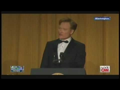 Conan O'Brien White House Correspondents' Dinner (April 27, 2013) [2/2]