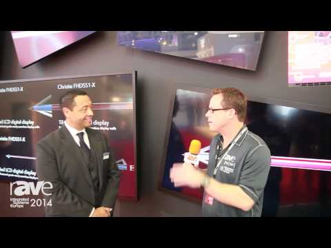 ISE 2014: Frank Anzures Shows rAVe the Christie FHD Series