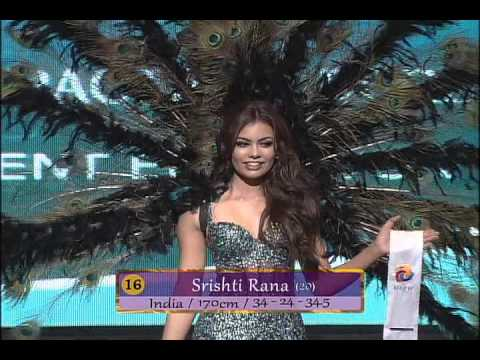 Final Country Dress & Swimsuit of Miss Asia Pacific World 2013 미스아시아퍼시픽월드