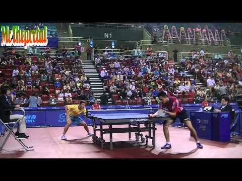 Table Tennis - Kristian Karlsson Vs Stephane Ouaiche - (Private Recording)