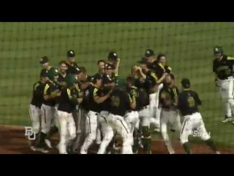 Baylor Baseball: Highlights vs Texas (Fri)