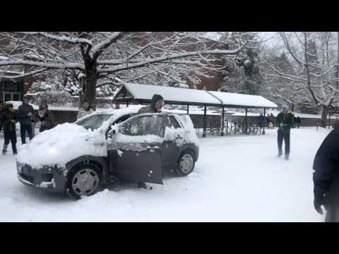 Students get out of hand during Friday's snowfall
