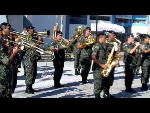 hino do palmeiras tocado pela banda do exercito brasileiro